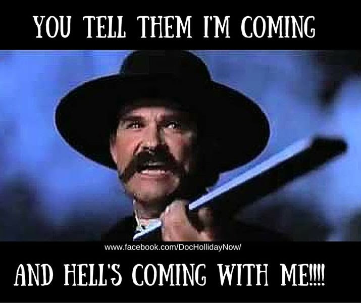Doc Holliday Quotes From The Movie Tombstone: Trump Announces Support For 'merit-based' Legal